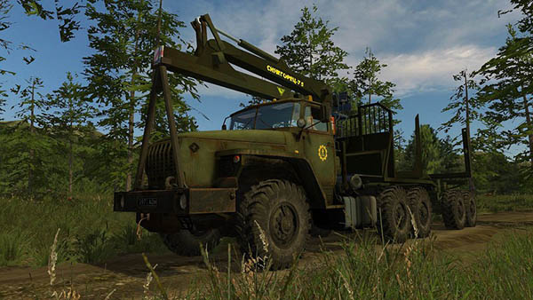 Ural 4320 Forestry Set