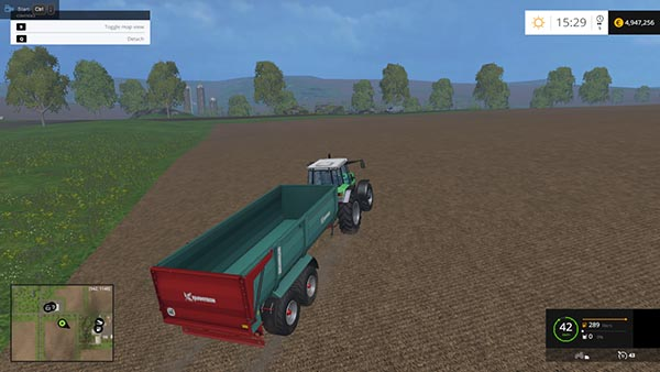FARMTECH DURUS 2000 TRAILER