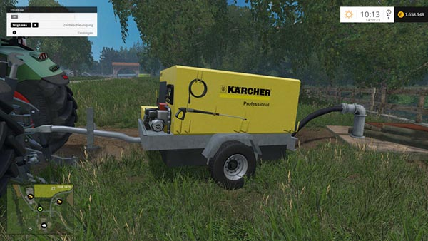 Kaercher Portable Pressure Washer