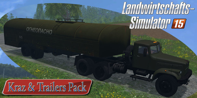 KrAZ and Trailers Pack