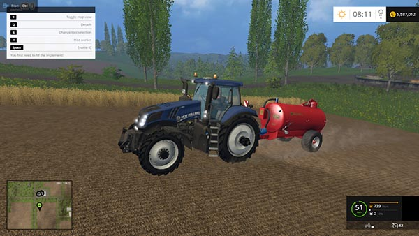 New Holland T8.420 Blue Power