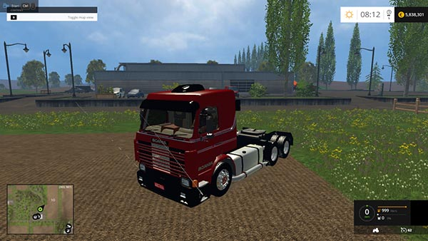 Scania 143 Frontal