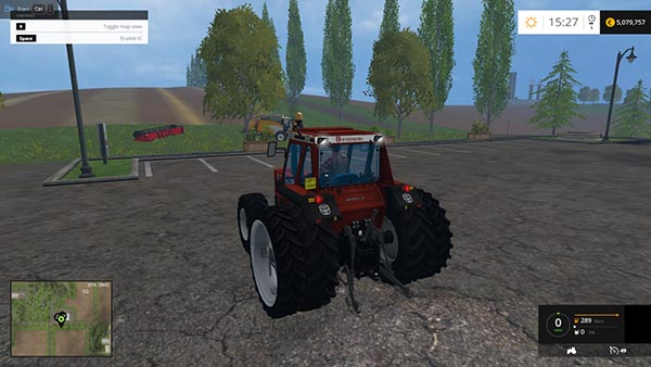 FiatAgri 160 90 dt twin wheels v 1.1