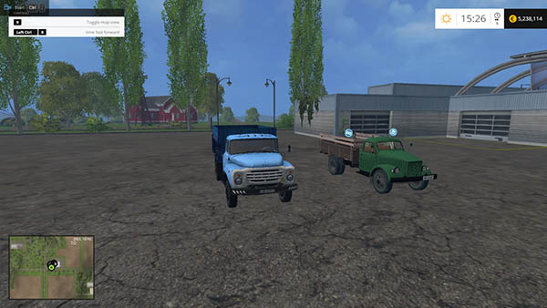 GAZ 51 and Zil Truck