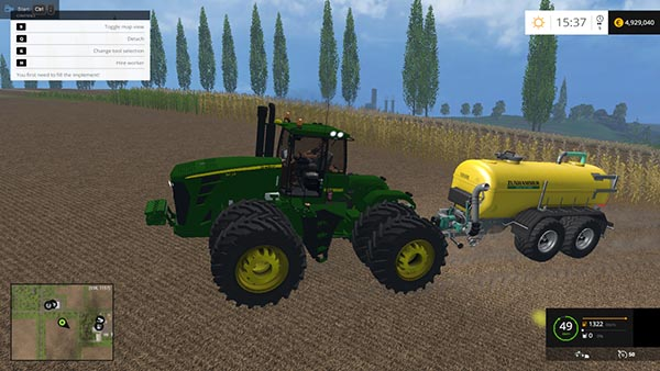 JD 9630 Selectable