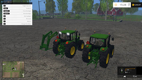 John Deere 6115M Washable Final