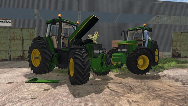 JohnDeere 7810 FH Version and Weight version