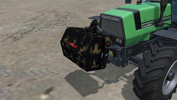 Pack Two mass Magsi 700kg 1t v 1.0
