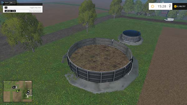 Placeable slurry pit