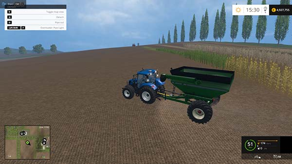 Unverferth 6500 Grain Cart