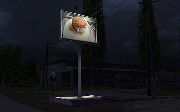 Billboard nightlight