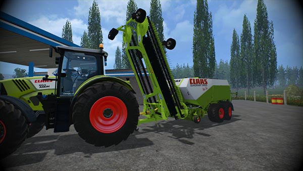 Claas Quadrant 2200 and Nadal R