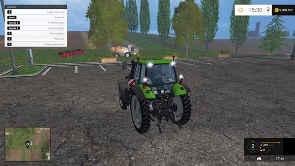 Deutz Fahr 120 MK3 Washable