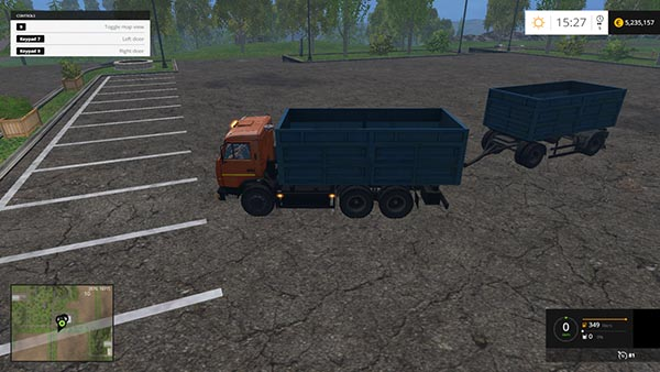 Kamaz 53212 and Nefaz 8560B