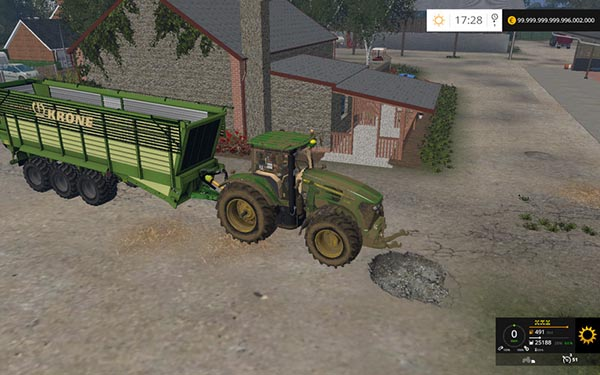Krone TX 460 and TX 560