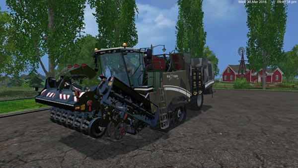 MARINE CAMOGRIMME MAXTRON 620 + GRIMME TECTRON 415
