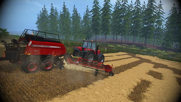 Massey Ferguson 2290 and Nadal R90