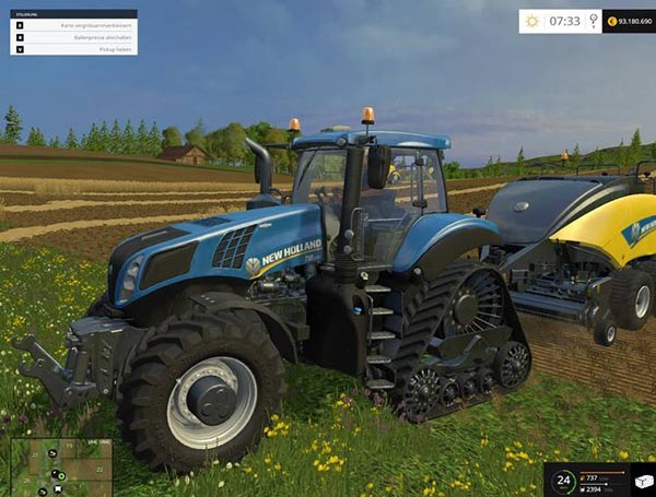New Holland T8 435 SmartTrax 20
