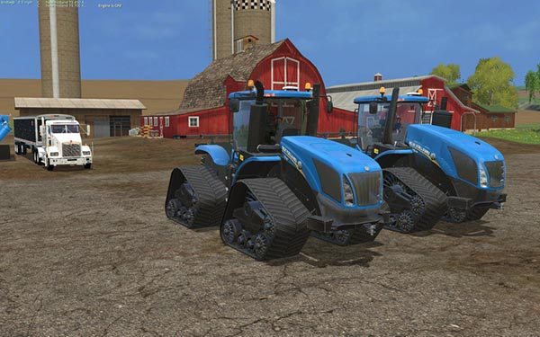 New Holland T9.700