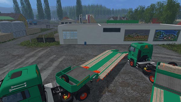 Aguas tenias Low Loader