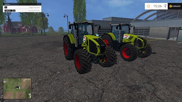 CLAAS AXION 950 & 850 PACK