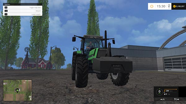 FENDT weight