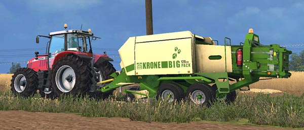 John Deere 690 & Krone Big Pack 120-80