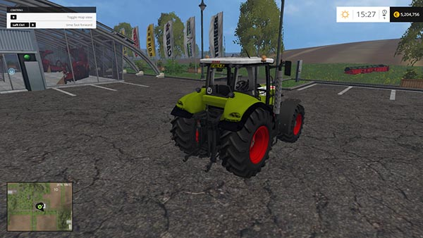 Claas Tractor edit