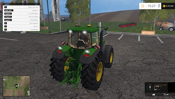 John Deere 8520 Front Weight Version
