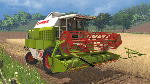 Claas Dominator 88s Advanced