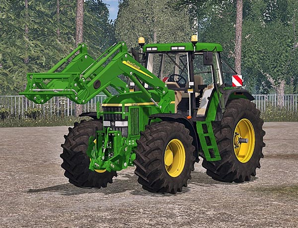 John Deere 7810 Washable