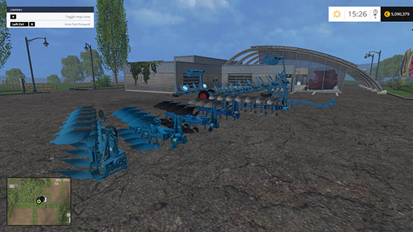 Lemken Plows Pack