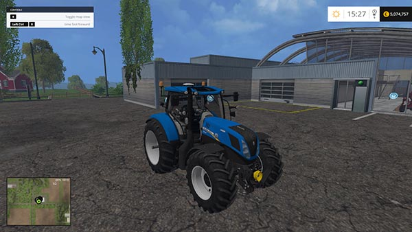 NEW HOLLAND T7240