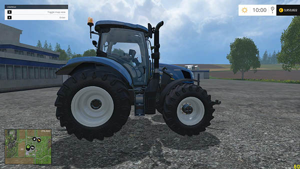 NH T6.160 REAL ENGINE v1.0