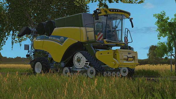New Holland CR10.90 Real Engine