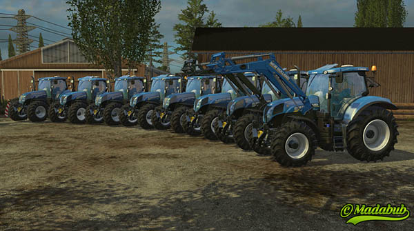 New Holland T7.170 185 200 210
