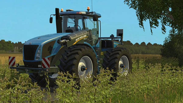 New Holland T9.560 Real Engine