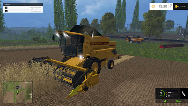 New holland TX34