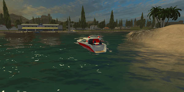 Sport Boat For Giants Map