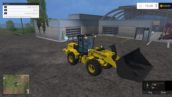 Wheel Loader Shovel XL