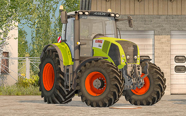 Claas Axion 850 v 2.1