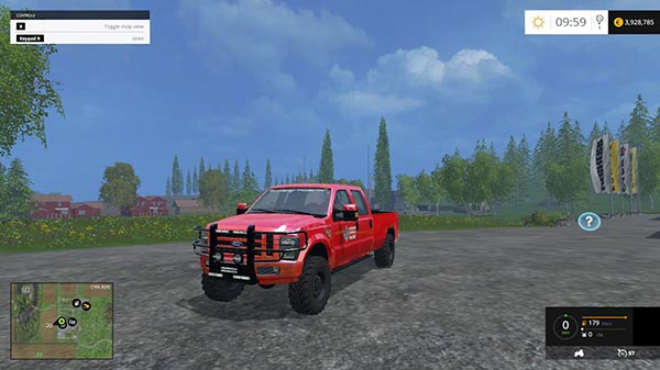 American Fire Chief Ford pickup v1.0