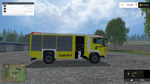American Fire Truck v1.0