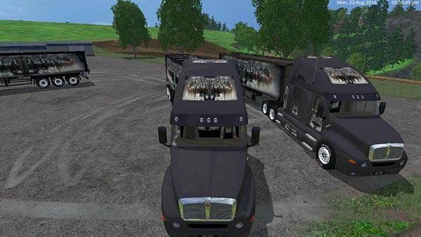Budweiser Truck And Trailer Pack v2.0