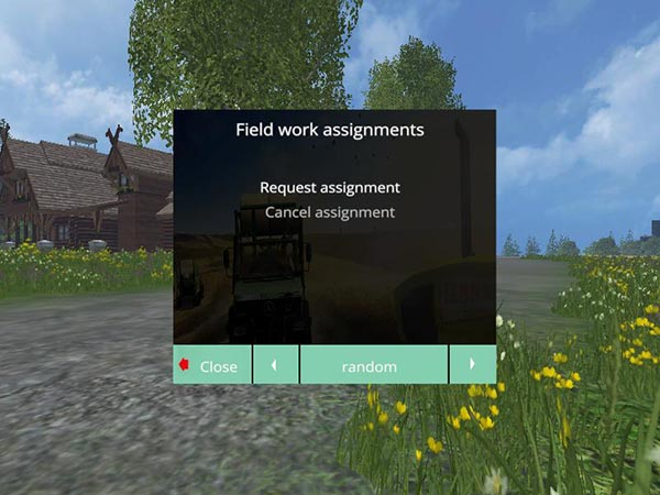 Field work assignments