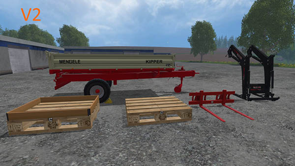 Mengele Tipper Equipment Pack