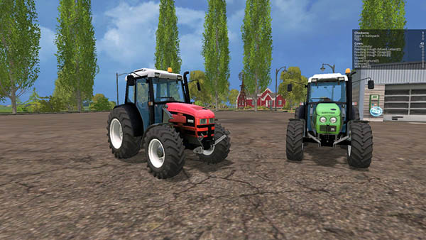 Same Dorado 86 and Deutz-Fahr Agroplus 87