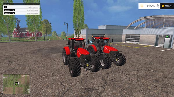 Case IH Optum CVX 300 AND 270