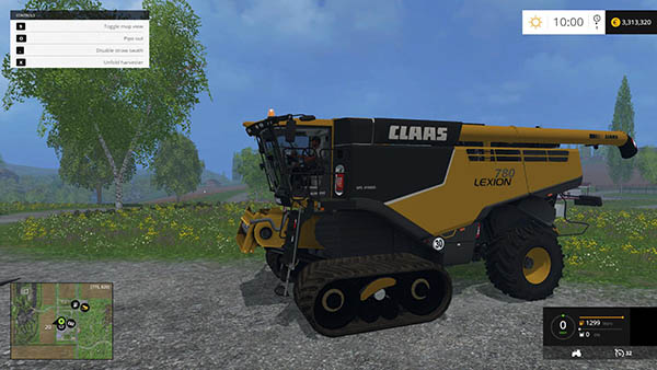 Claas Lexion 780TT CAT v 1.0
