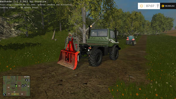 Functional forestry winch krpan winch v 1.0 Beta